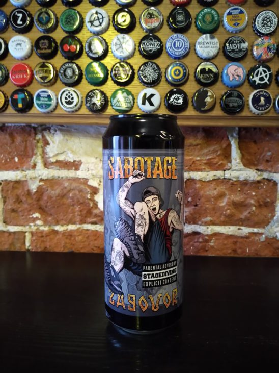 Stage Diving (Sabotage  Collaboration with Zagovor Brewery)