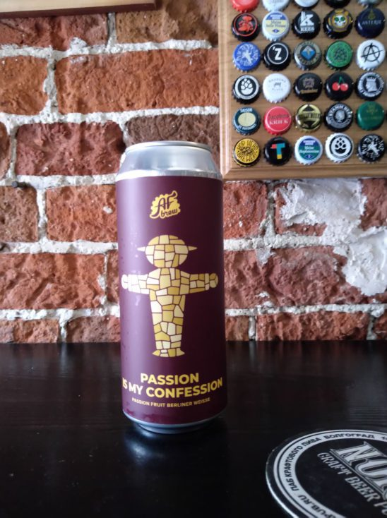 Passion Is My Confession (AF Brew)