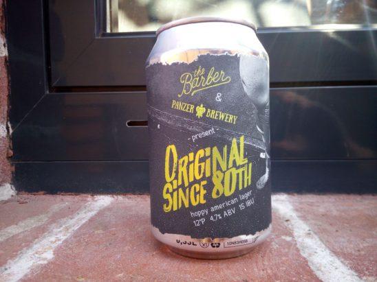 Original since 80th (Panzer Brewery)