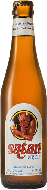 SATAN WHITE ( Brewery De Block B.V.B.A. )