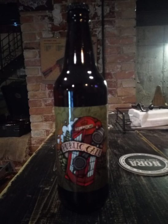 PUBLIC CALL RED IPA (Selfmade Brewery)