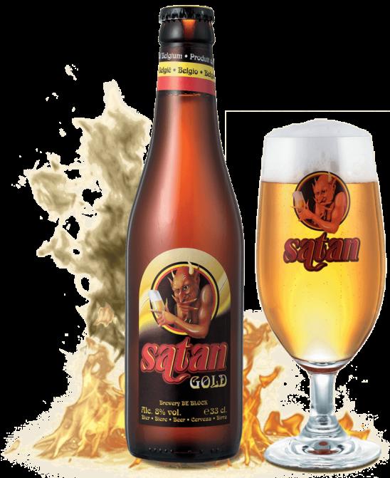 SATAN GOLD ( Brewery De Block B.V.B.A. )