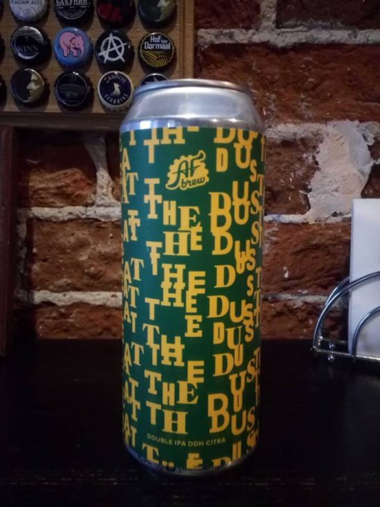 Eat the Dust! DDH Citra (AF Brew)