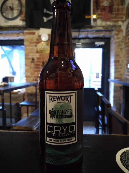 Cryotherapy (Rewort Brewery  Collaboration with Panzer Brewery)