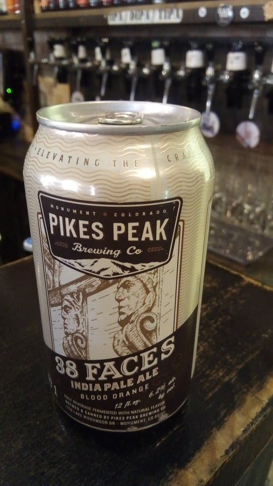 38 Faces No. 1 (Pikes Peak Brewing Co.)