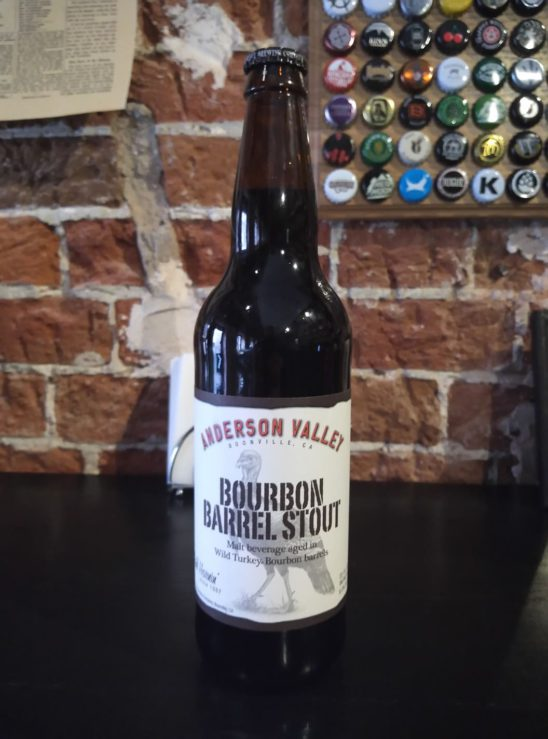 Bourbon Barrel Stout (Anderson Valley)