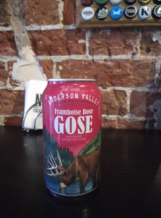 Framboise Rose Gose (Anderson Valley)