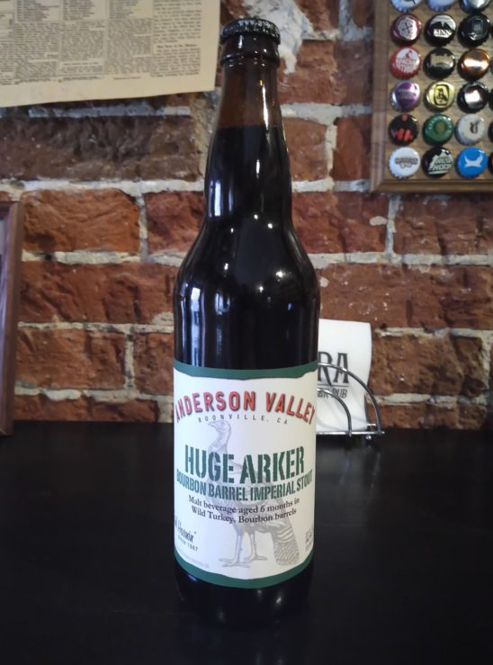 Huge Arker Russian Imperial Stout (Anderson Valley)