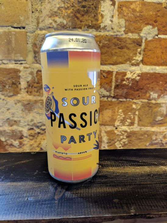 Sour Passion Party (STAMM BEER with Zagovor Brewery)