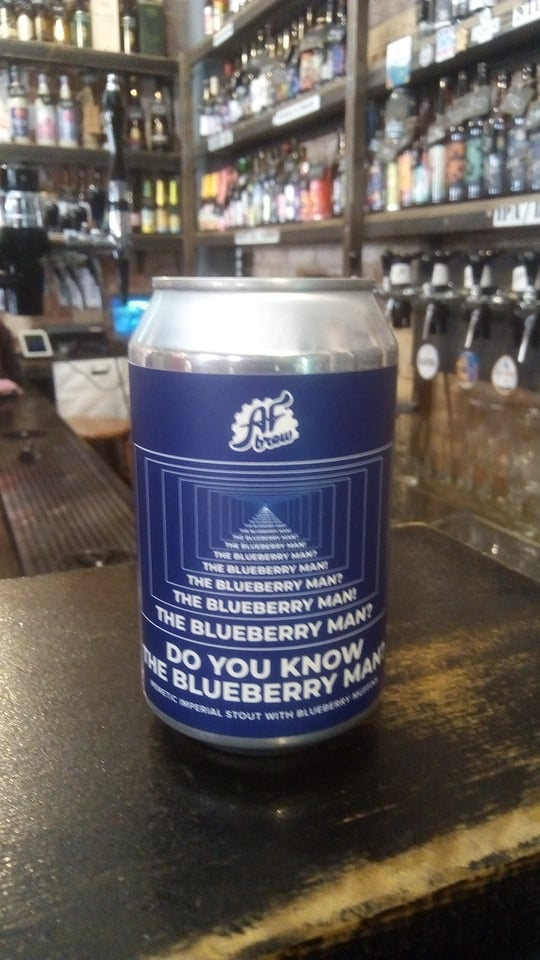 Do You Know the Blueberry Man? (AF Brew)