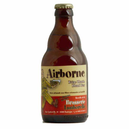 AIRBORNE TRIPLE-BLOND (Brasserie De Bouillon)