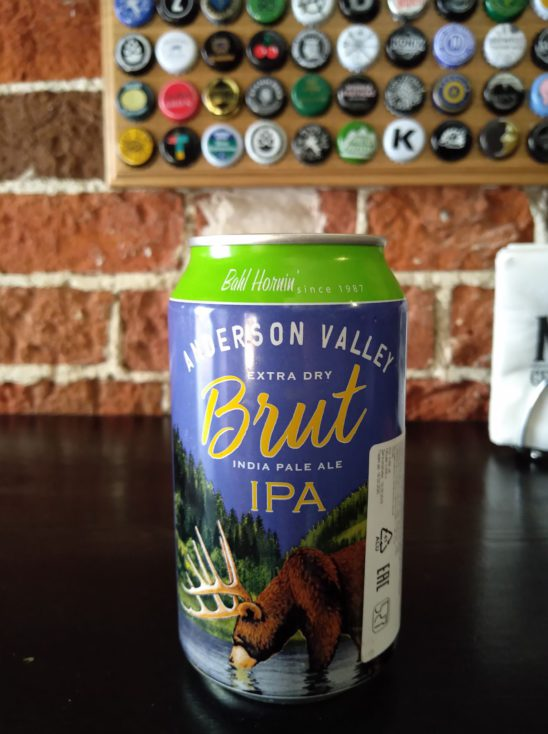 Brut IPA (Anderson Valley Brewing Company)