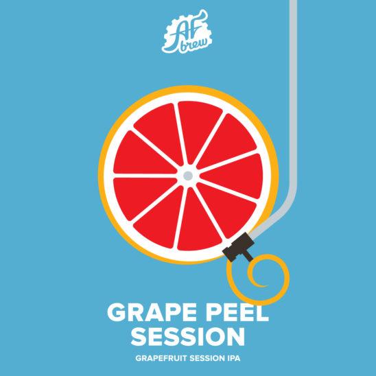 Grape Peel Session (AF Brew)