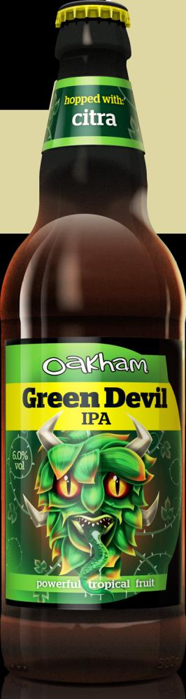 GREEN DEVIL IPA (Oakham)