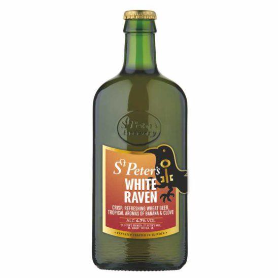 ST. PETER'S WHITE RAVEN