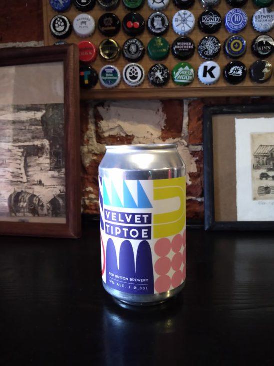 Velvet Tiptoe (Red Button Brewery)