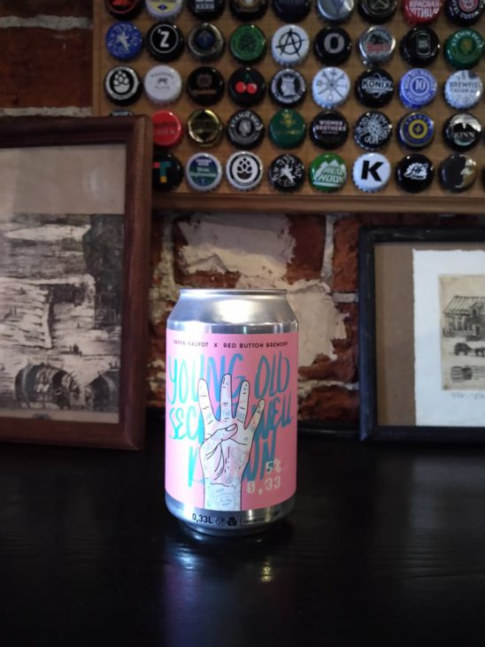 Young Old Secret Well Known (Red Button Brewery)
