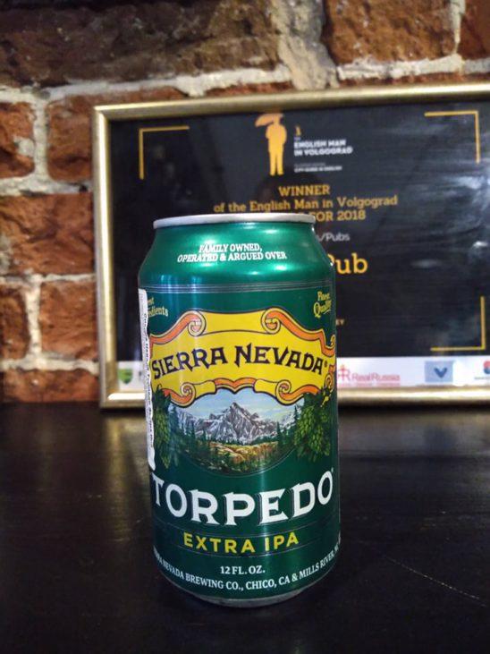 Torpedo Extra IPA (Sierra Nevada Brewing Co.)