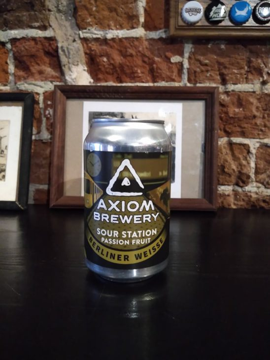 Sour Station Passionfruit (Axiom)