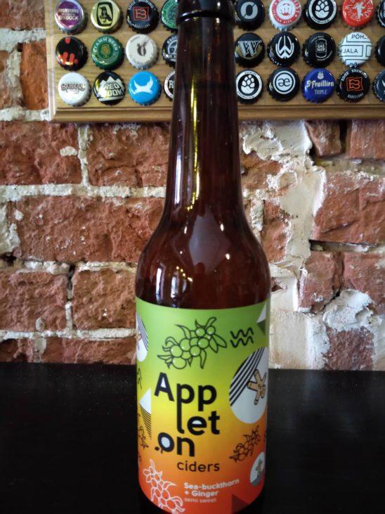 Sea-buckthorn + Ginger (Appleton Ciders)