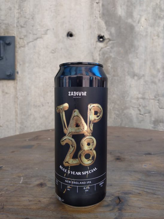 Tap 28 (Rule 5 Year Special) Zagovor Brewery