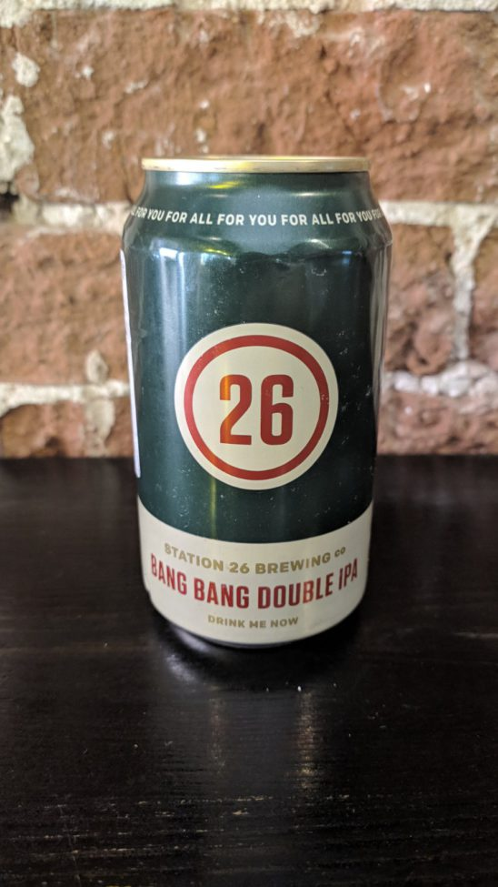 Bang Bang Double IPA (Station 26 Brewing Co.)