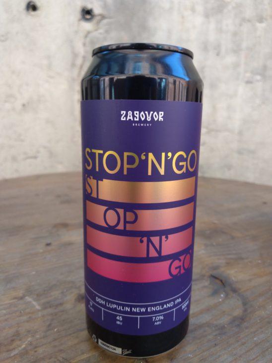 STOP'N'GO: DDH+Lupulin Powder (Zagovor Brewery)