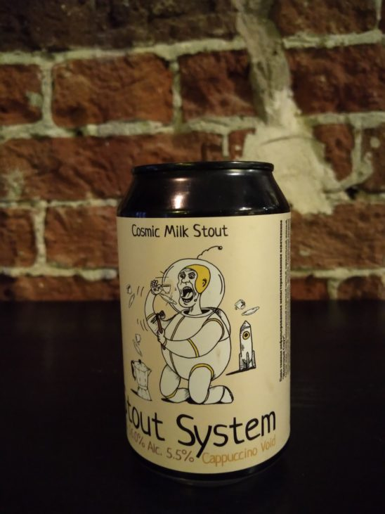 Stout System: Cappuccino Void (Odna Tonna Brewery)
