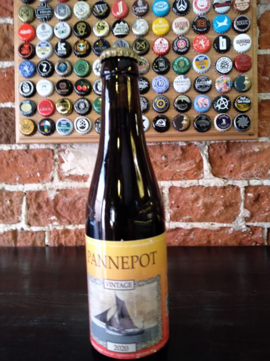 Pannepot — Old Fisherman's Ale (Vintage 2020) (De Struise Brouwers)