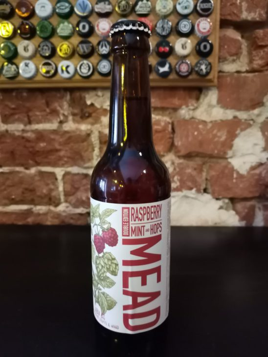 Raspberry, Mint And Hops Mead Double Edition (Степь и Ветер)