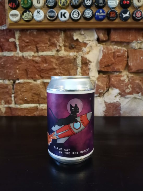 Black Cat On the Red Rocket (Black Cat Brewery)