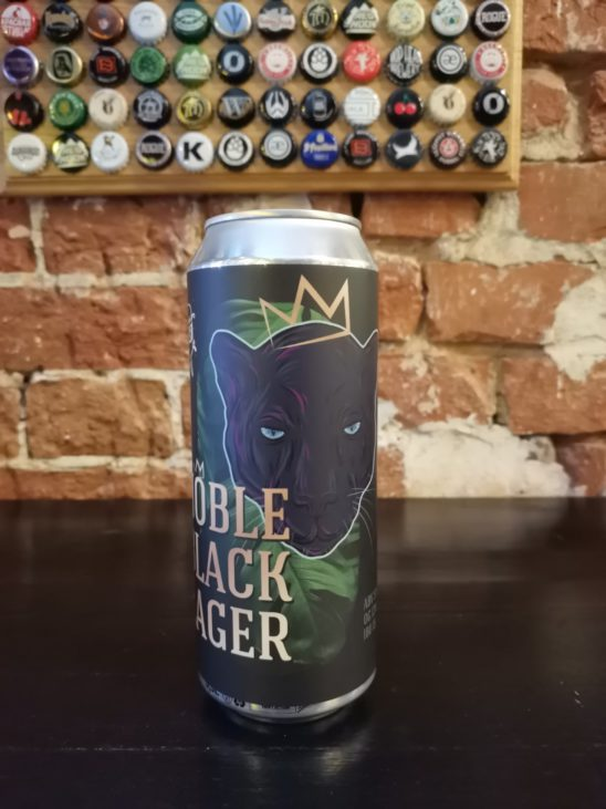Noble Black Lager (Samovar Brew)