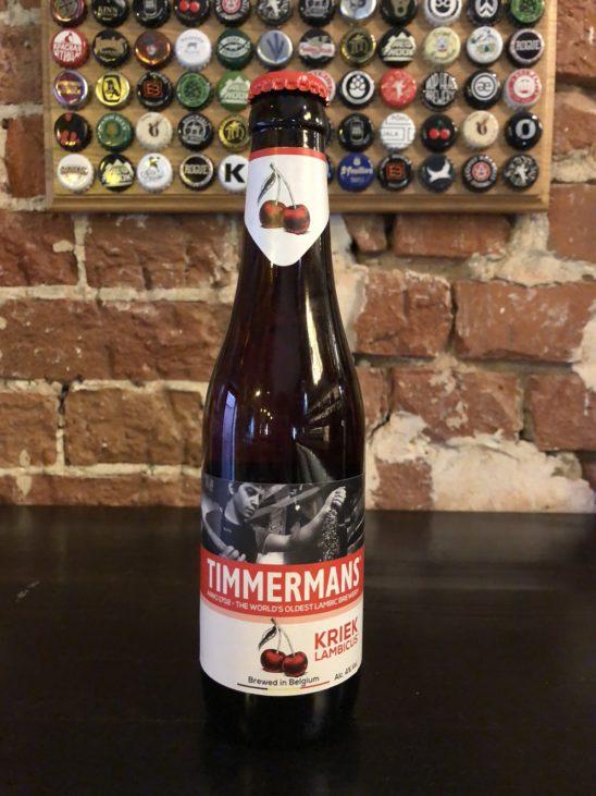 Timmermans Kriek Lambicus (Brewery John Martin & Brewery Timmermans)